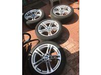 "BMW 520D M Sports original alloy wheel 18"""
