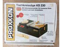 PROXXON TABLE SAW