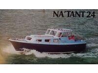 NATANT 24 PARKER MOTORBOAT £6950