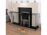 Extendable Fireguard Black