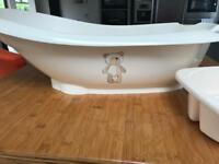 Mothercare baby bath and top and tail bowel
