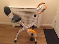 Exercise bike- folding
