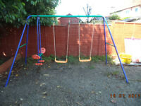 Swing Set for children - Good Condition - Buyer Uplifts