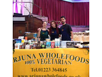 Full Time Worker at Arjuna Wholefoods