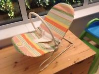 Mamas and Papas baby bouncing seat with buzzer