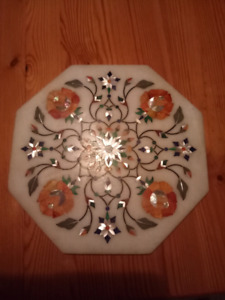 Stone and Mother-of-Pearl Trivet