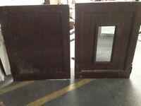 Stable wooden door