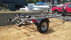 Boat trailer. Refurbished.