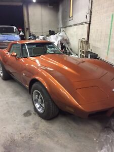 1978 Chev corvette 25th Anniversary