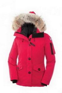 Women's MonteBello Parka Pink Canada Goose