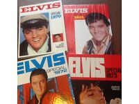 Rare Elvis books from the 1970s