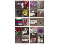 Job lot of cake decorating tools and baking equiptment