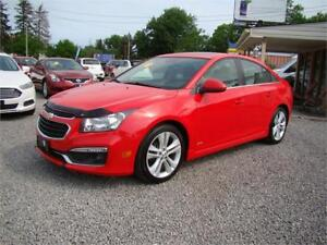 2015 Chevrolet Cruze 2LT RS Automatic Loaded