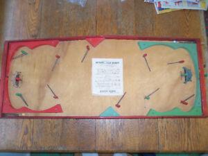 Vintage Munro Tabletop Hockey Game