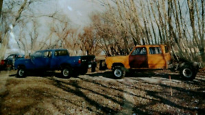 1980 Dodge Power Wagon, crew cab short box 4x4