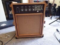 Superb Bass amp packing crate box