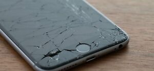 Cracked iPhones