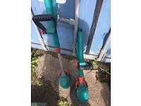 Bosch grass trimmer cordless battery included