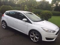 Stunning nearly new Ford Focus Style Econetic for sale White