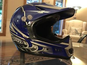 Motocross helmet, 9/10 condition