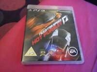 Need for speed PS3 game