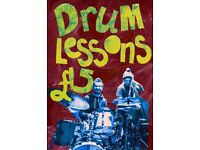 Drum Lessons with Drummer from Snazzback