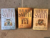 Wilbur smith 3x books