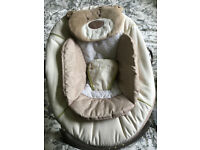 Mothercare loved so much bear baby bouncer chair