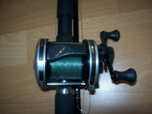 FISHING  TACKLE   --  RODS AND REELS ( LIKE NEW )   ETC.
