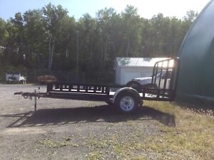 2014 P&J 7712 4 wheeler Trailer