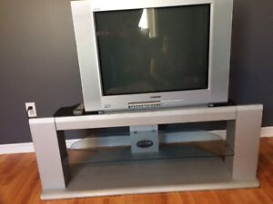 Old School Sharp TV With Stand