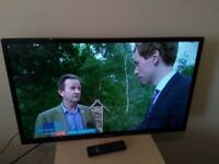 """Great condition 32"""" PANASONIC LED TV WIFI enabled' hd ready freeview"""