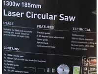 1300w Circular Saw with Laser Guide - New in box