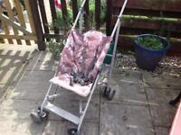Mothercare dinosaur pushchair