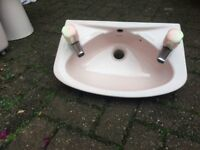 Toilet and cloak room sink for sale