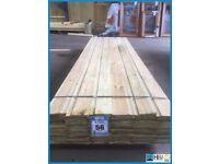 Shiplap timber cladding