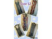 Ladies size 12 dress bundle! Some new!