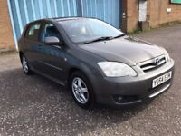 (54) Toyota Corolla t3-x 2.0 d4-d , mot - March 2018 , service history 11 stamps ,focus,astra,civic