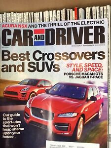 Over 110 Car and Driver / Road & Track magazine back issues