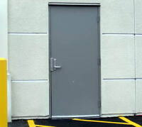 COMMERCIAL METAL DOORS | FIRE-RATED DOORS | FRAMES & HARDWARE