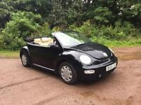 VW BEETLE CABRIOLET 2.0 L FULL SERVICE HISTORY