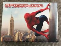 Spider-Man Limited edition DVD collectors gift set