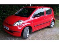 Daihatsu Sirion 2007 only 10,000 miles
