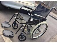 X 2 FULLY WORKING FOLDABLE WHEEL CHAIRS - GOOD CONDITION - £160 ONO FOR BOTH