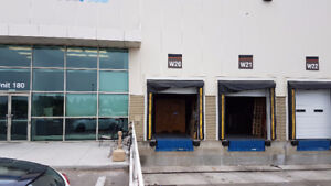 Up to 3500 sq ft of clean warehouse storage space available