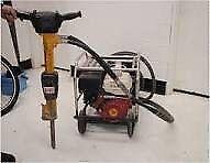 JCB petrol hydraulic jack hammer breaker
