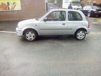 Nissan micra 998cc 2001 need gone today
