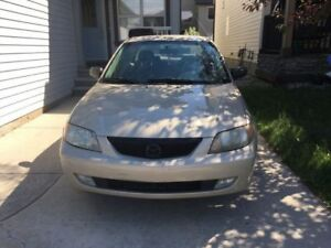 Great Mazda Protege 2001, must sell soon. Negotiable