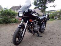 Yamaha XJ 900 F 1988 classic black tourer