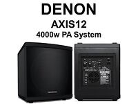 2000w Active Powered Pa System Speaker DJ System